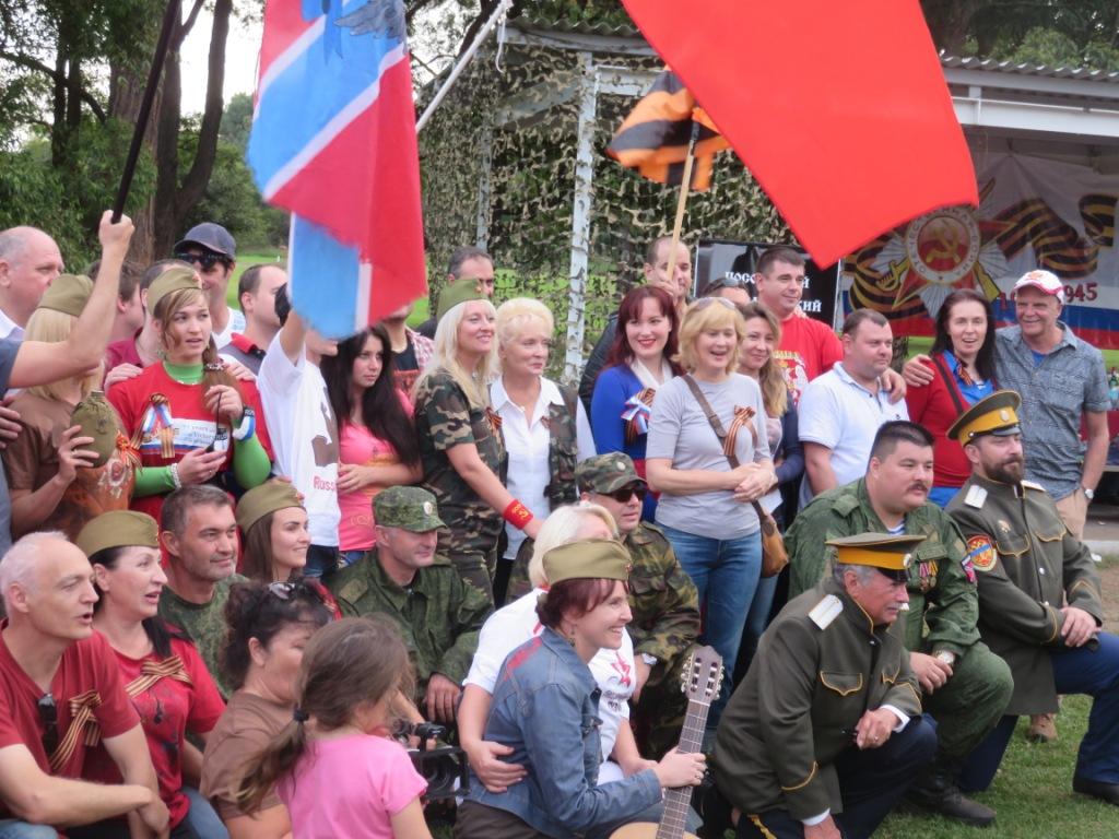 Казаки отпраздновали День Победы в Сиднее, Австралия
