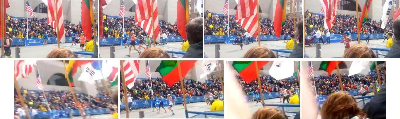 New Footage of Boston Marathon Explosion (Spectator View)000aa