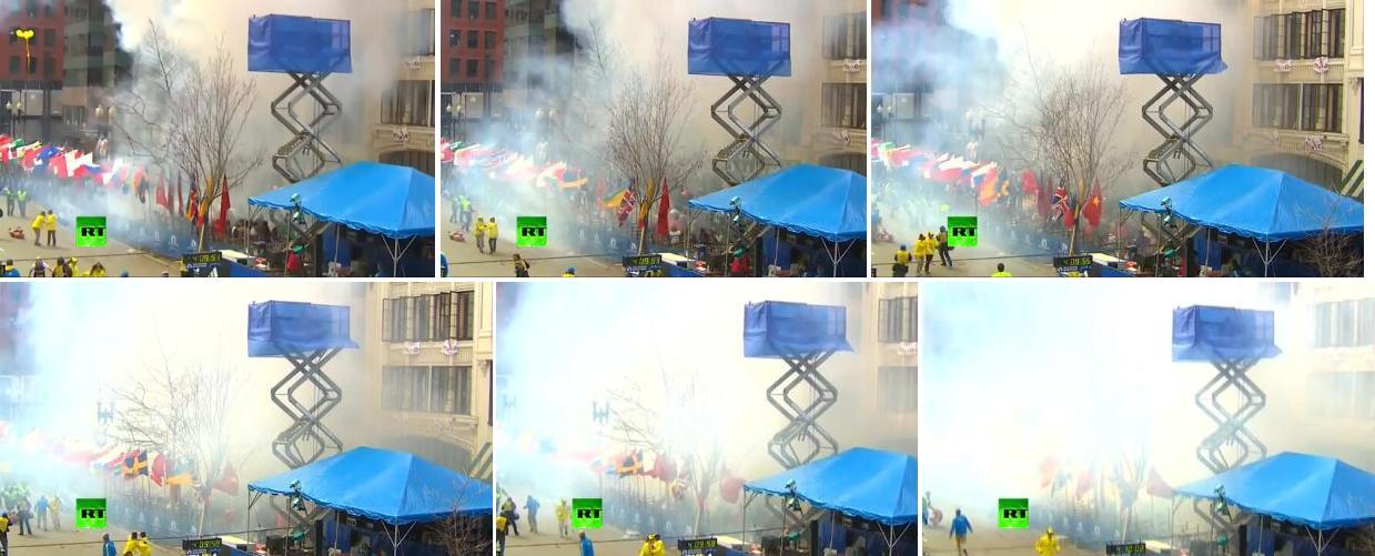 Двойной взрыв на марафоне в Бостоне  есть погибшие_023a