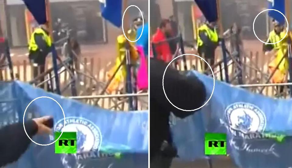 Двойной взрыв на марафоне в Бостоне  есть погибшие_106