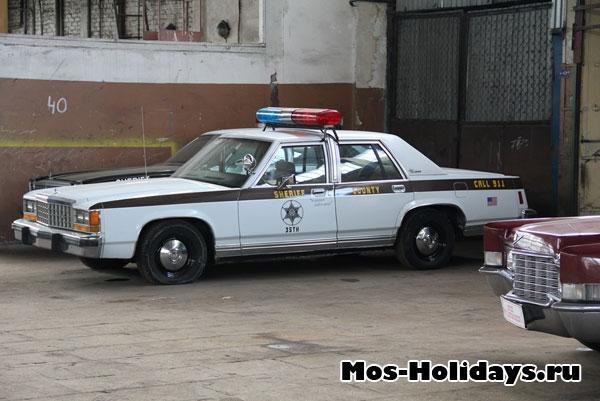 Автомобиль шерифа