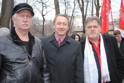 В Симферополе казаки, русские активисты и коммунисты торжественно отметили годовщину Переяславской Рады (ОБНОВЛЕНО.ФОТО)
