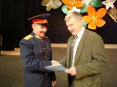 Запорожские казаки отметили 20-летие Центра казацкого военно-патриотического воспитания (ФОТО)