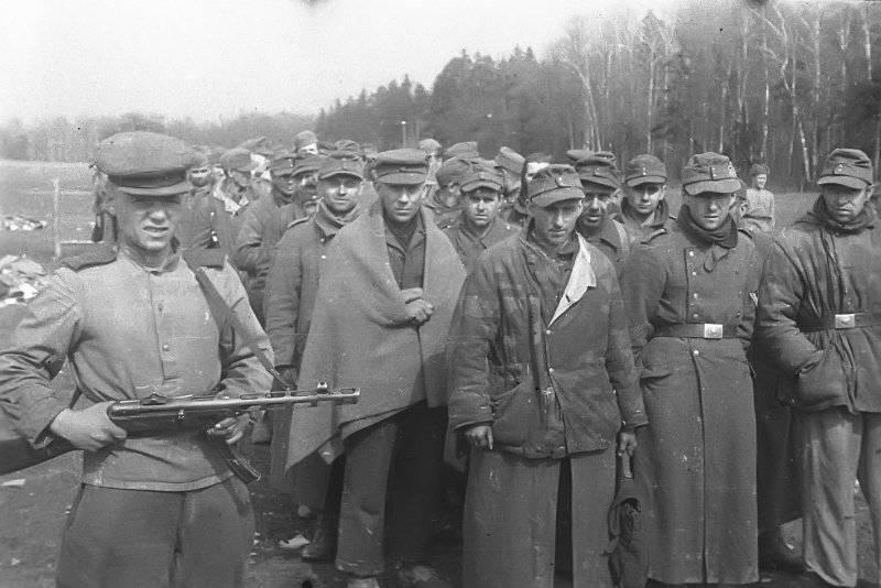 Падение бастиона немецкого духа
