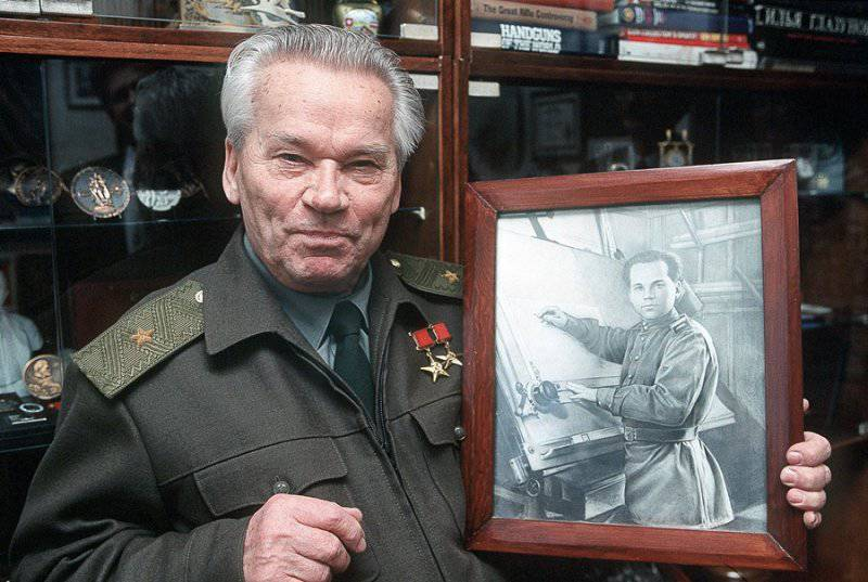Знаменитый оружейник Михаил Калашников отмечает 93-й день рождения