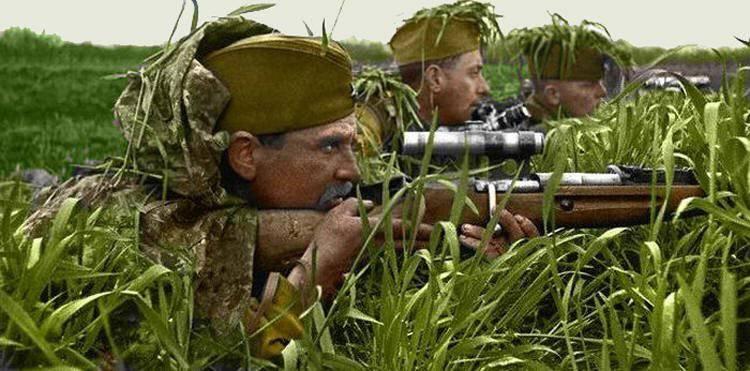 Самые результативные снайперы