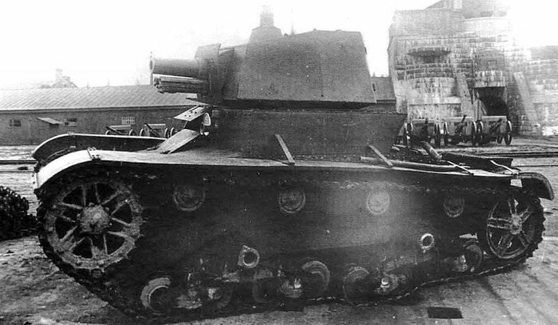 Артиллерийские танки Страны Советов