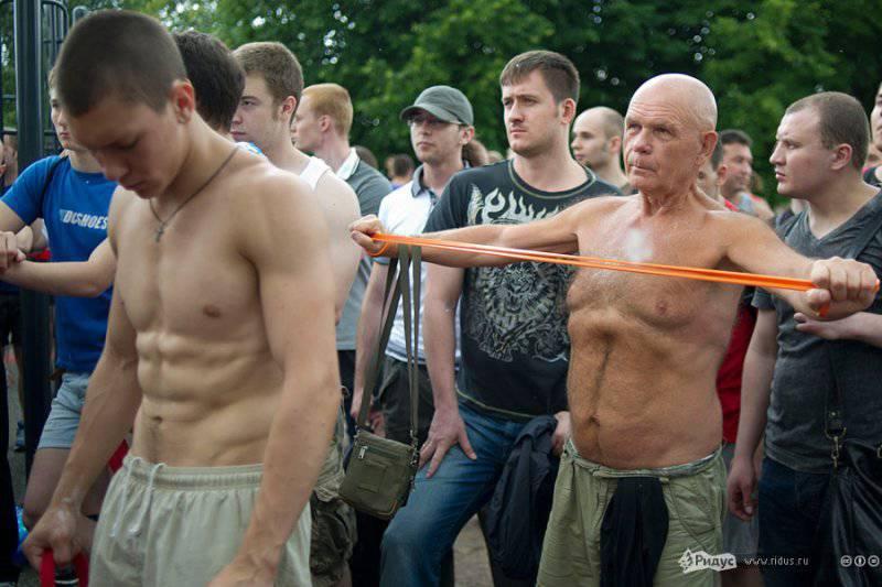 Ребята с нашего двора. Фоторепортаж с открытия уникальной спортивной площадки