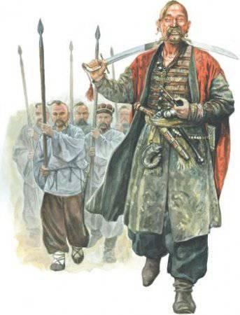 Образование Днепровского и Запорожского войска и их служба Польско-Литовскому государству