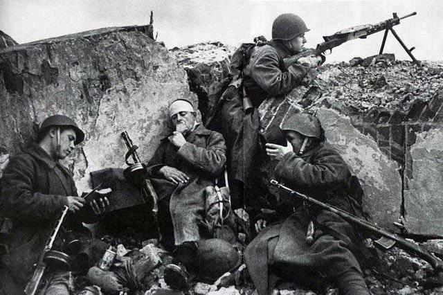 пистолеты-пулеметы Великой Отечественной