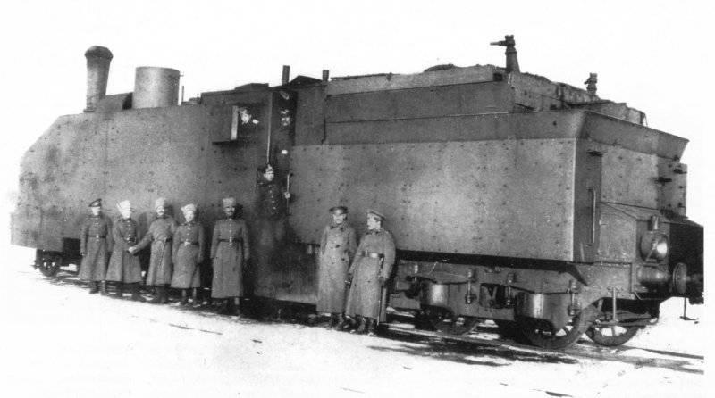 Русские бронепоезда