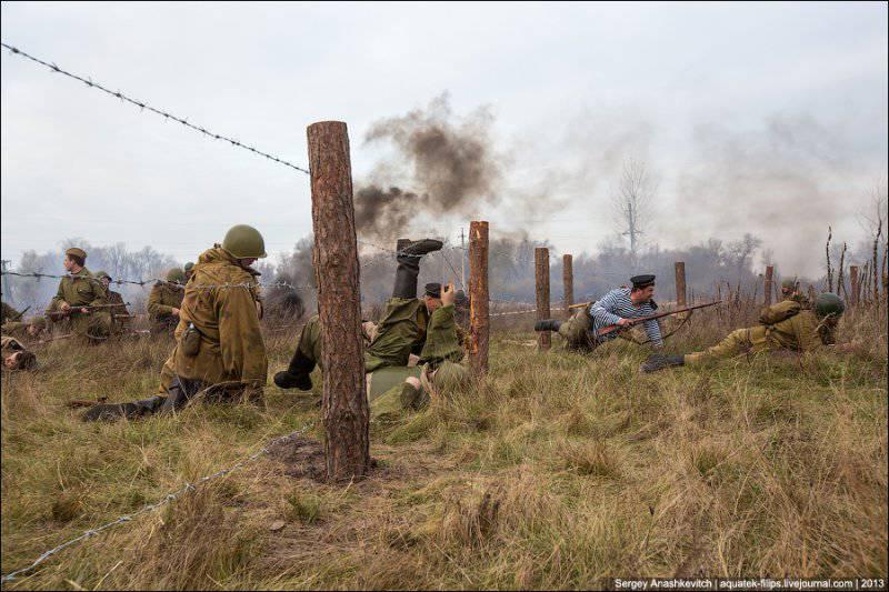 Бей оккупанта! Реконструкция боев за освобождение Киева