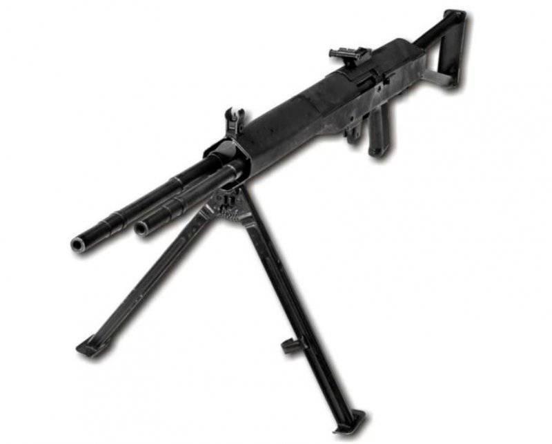 Экспериментальный высокотемпный пулемет Г.Н. Никонова