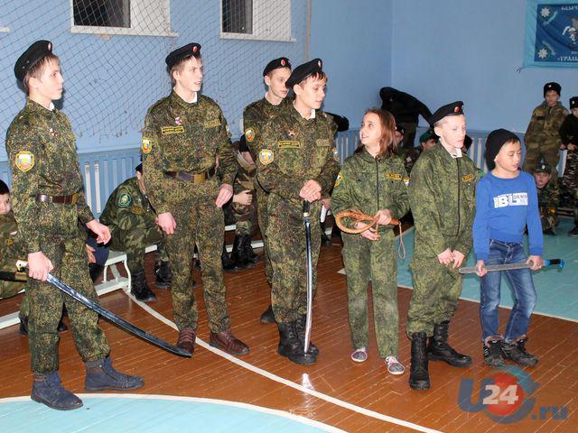 Под Челябинском завершились рождественские сборы ОД «Казачий дозор»