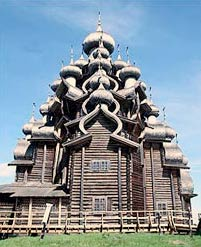Преображенская церковь в Кижах. Начало XVIII в. - www.Arhitekto.ru