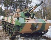 Боевая машина БМД-4М прошла испытания на полигоне в Кургане
