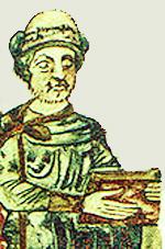 Святослав Ярославич. Миниатюра из Изборника 1073 года