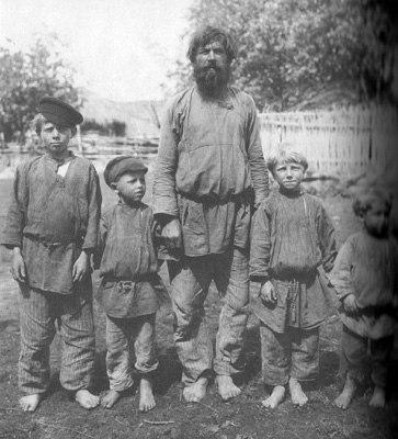 Рязанская губ., Касимовский уезд, с.Большие Пекселы, 1910г