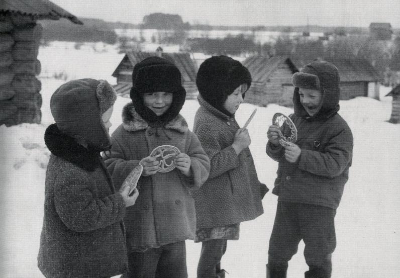«Тетерочный день» в деревне Гарь. Фото 1977 г.