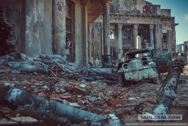 Декорации к фильму Сталинград