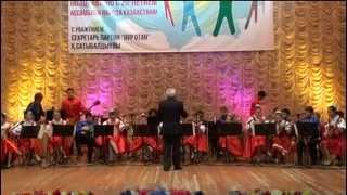 """Е. Простомолотов """"СВЕТИТ МЕСЯЦ"""" вариации для оркестра. 27.04.2015 г."""