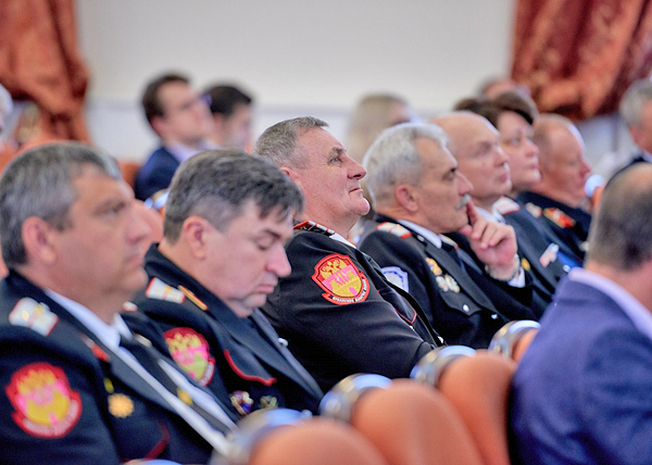 Всероссийский семинар-совещание с руководителями казачьих кадетских корпусов(2018) Фото: минобрнауки.рф