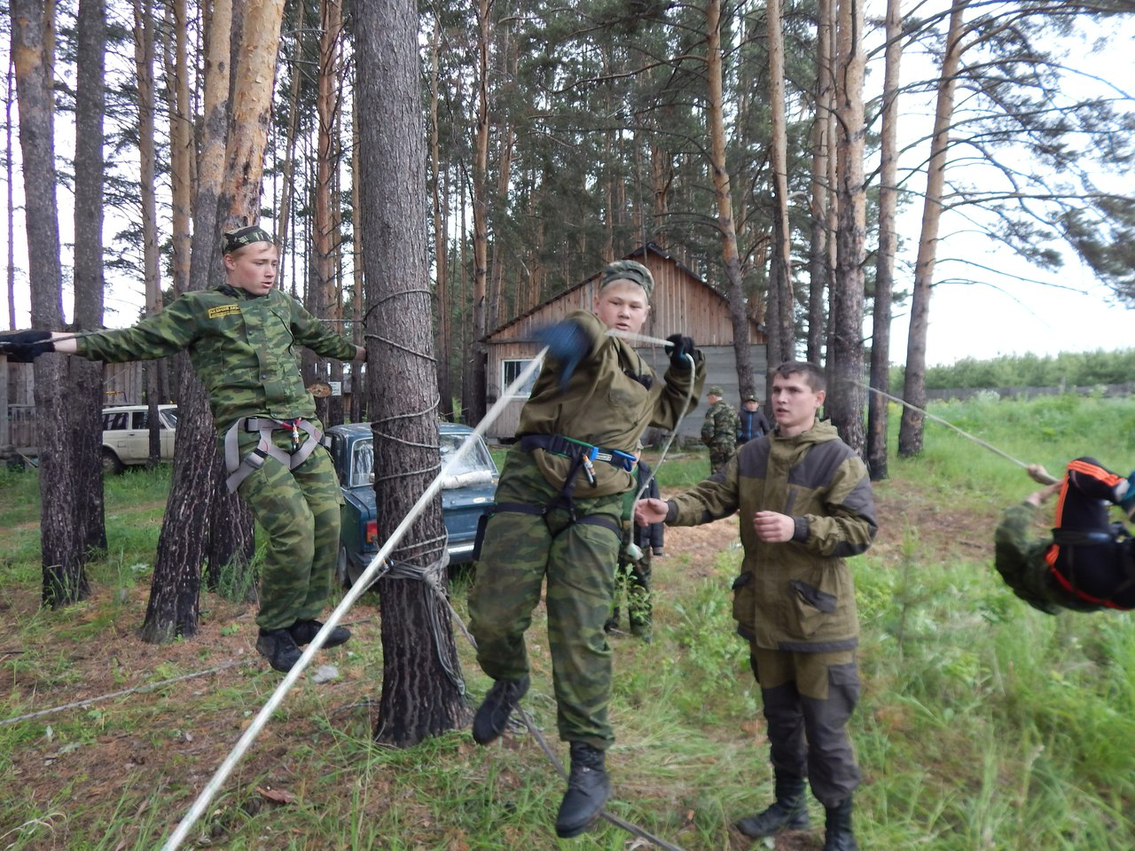 Сборы Казачьего Дозора в Бобровском Свердловской области