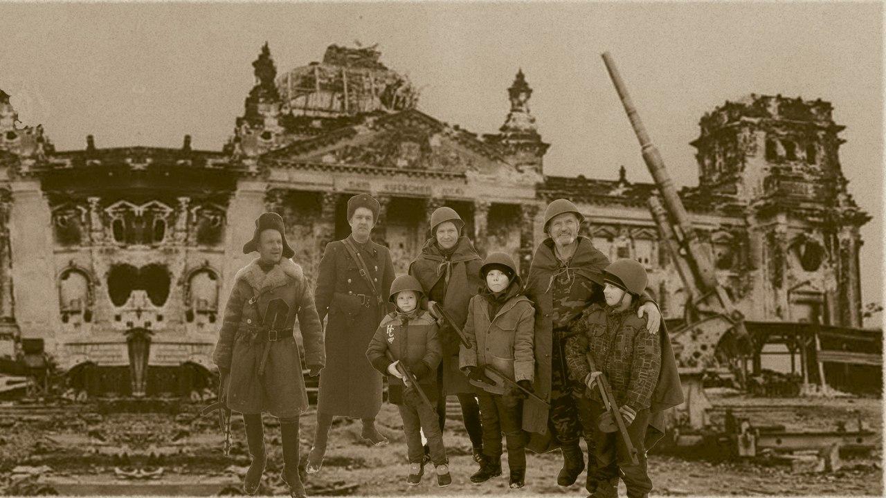 В д.Маркова Свердловской области прошла реконструкция штурма Рейхстага в 2016 году
