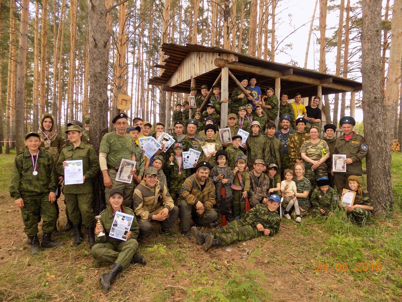 Военно спортивная игра Казачьего Дозора в Бобровском