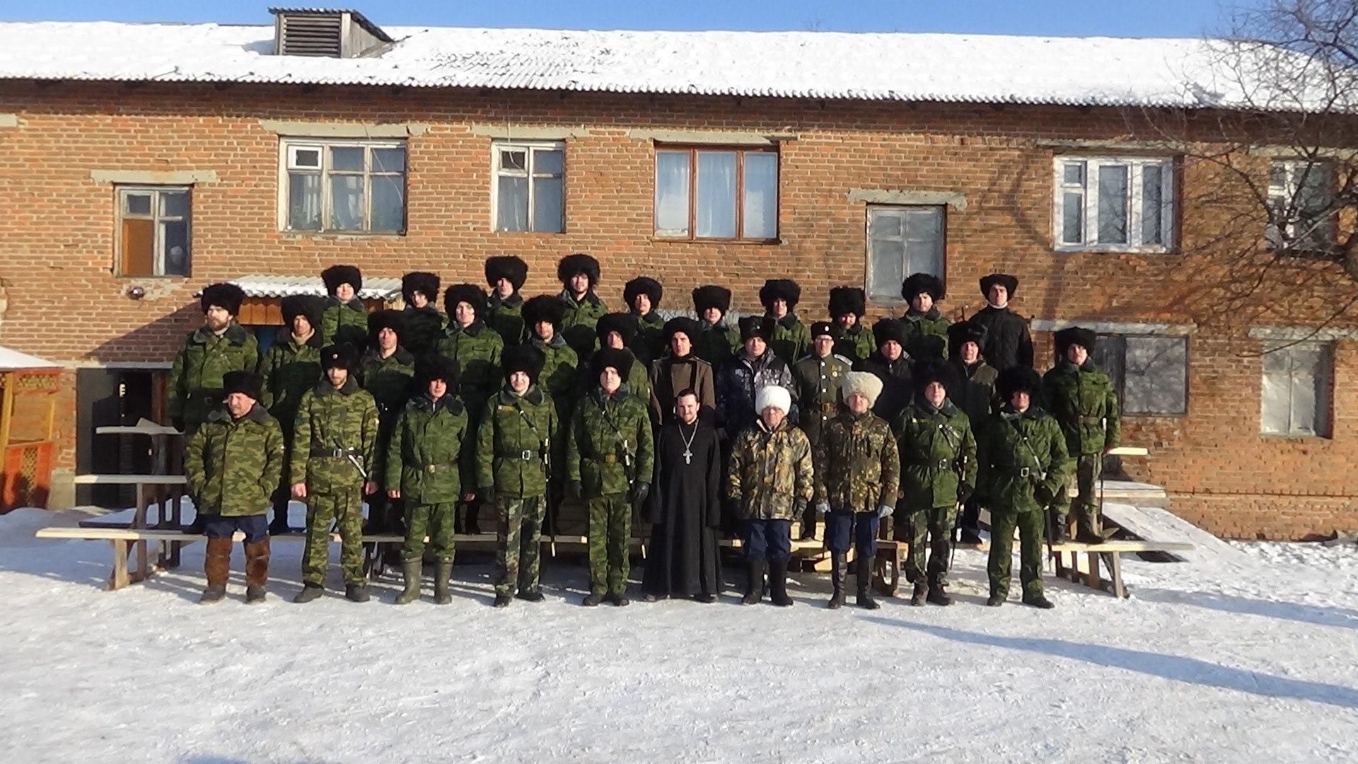 Оренбургские казаки на Урале