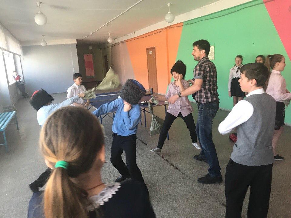 Казачий Дозор в школах Екатеринбурга