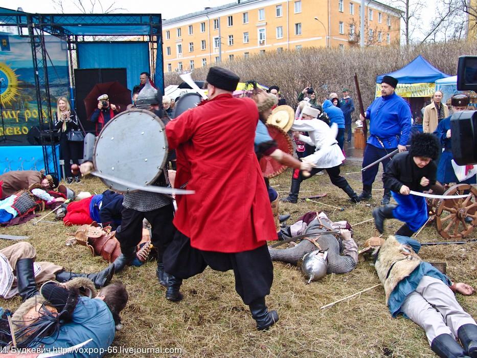 Казачий Дозор и Русское Будущее организаторы Фестиваля Рубежи Веков