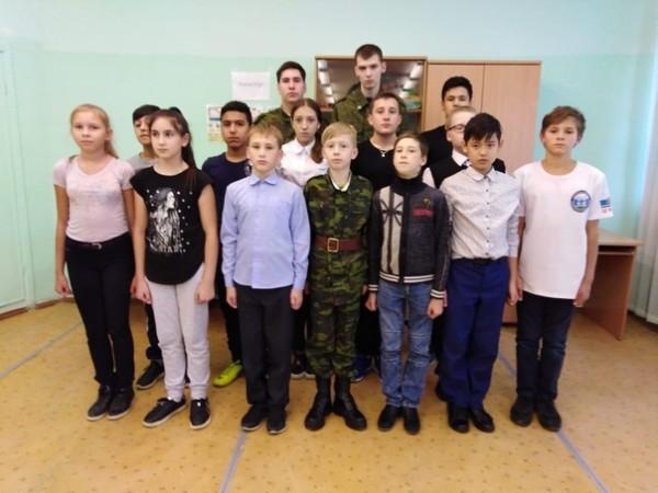 Хутор Уральский ведет патриотическую работу с молодежью