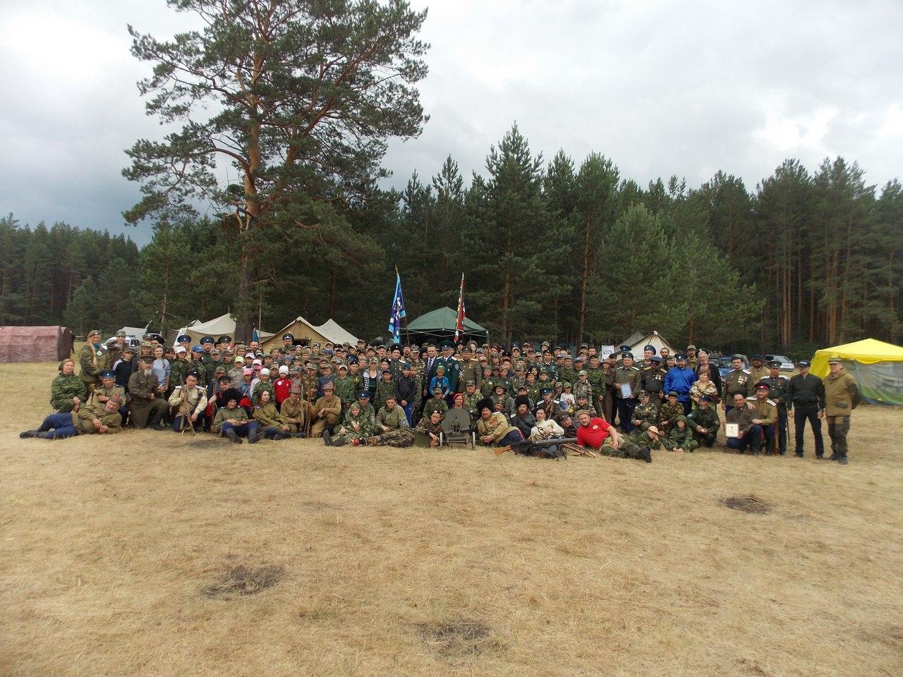 Итоговый лагерь Казачьего Дозора в Сухом Логу Свердловской области