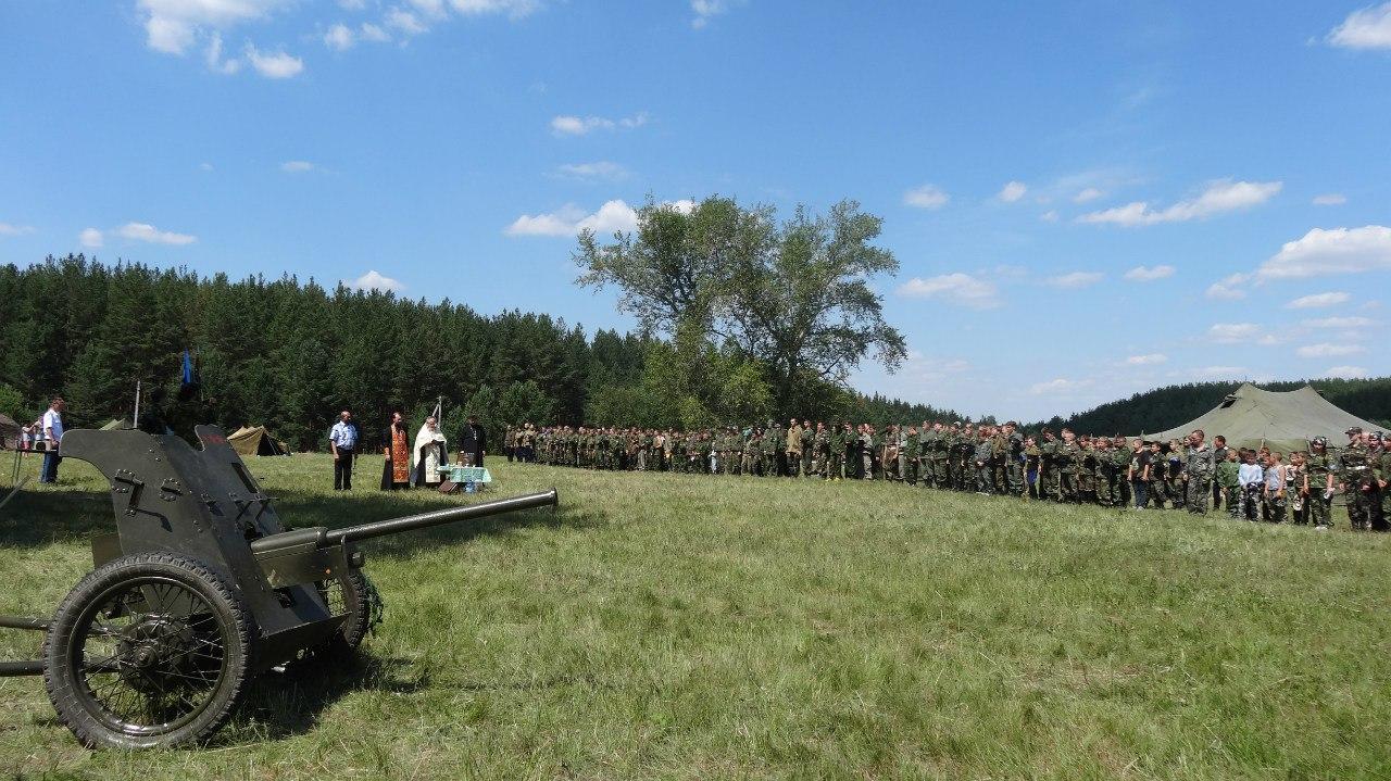 Открытие Итогового полевого лагеря Казачьего Дозора