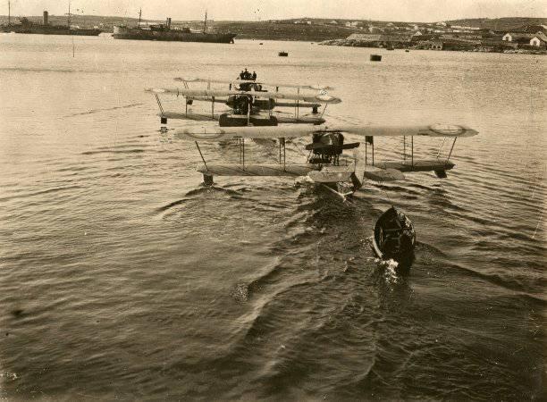 История авиации: пленивший шхуну самолетом