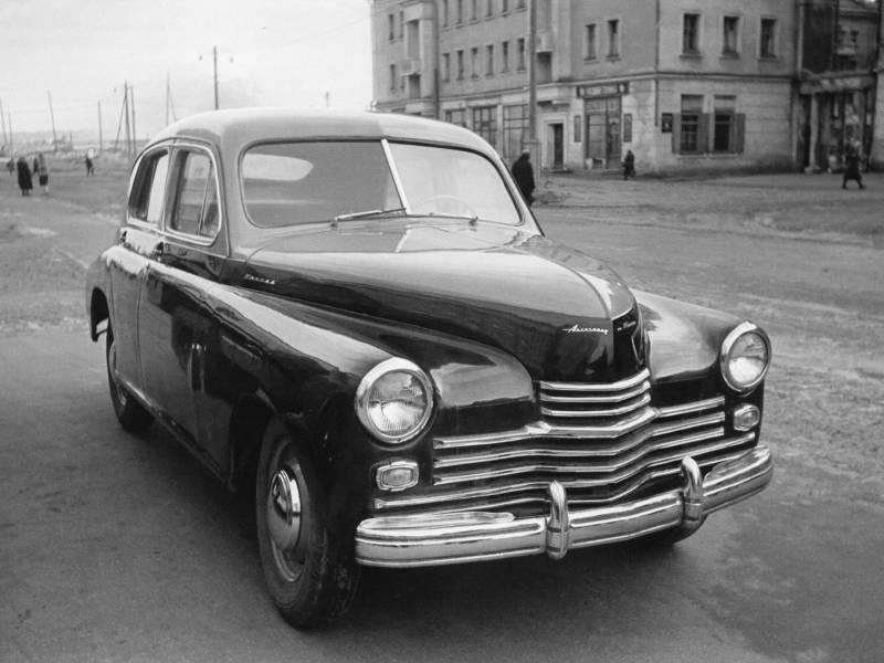 70 лет назад с конвейера сошли первые автомобили ГАЗ-М-20 Победа