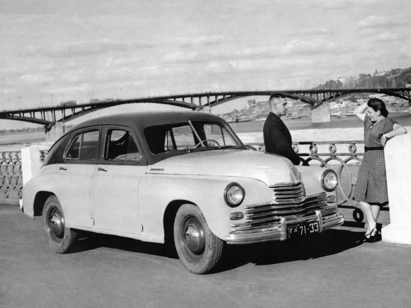70 лет назад, 28 июня 1946 года, с конвейера сошли первые автомобили ГАЗ-М-20 «Победа»