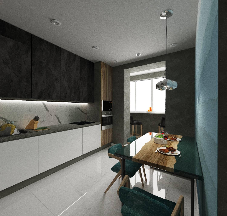 Кухня в минималистическом стиле