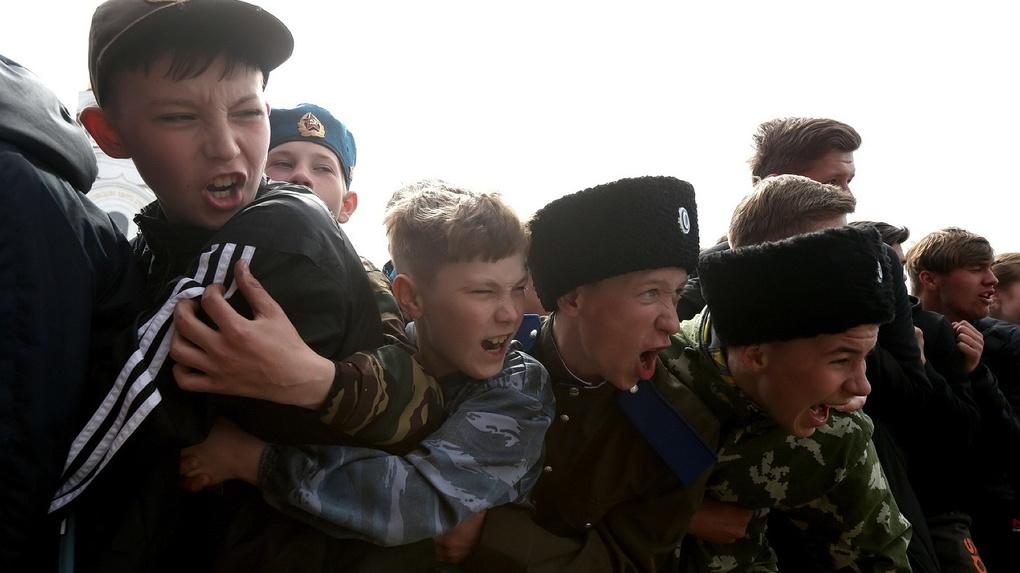 В Екатеринбурге казаки отметили 150-летие Николая II
