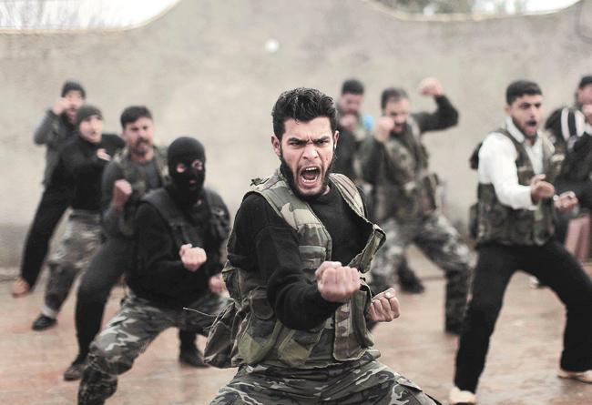 Сирийские боевики, подготовленные иностранными державами длясвержения законного правительства