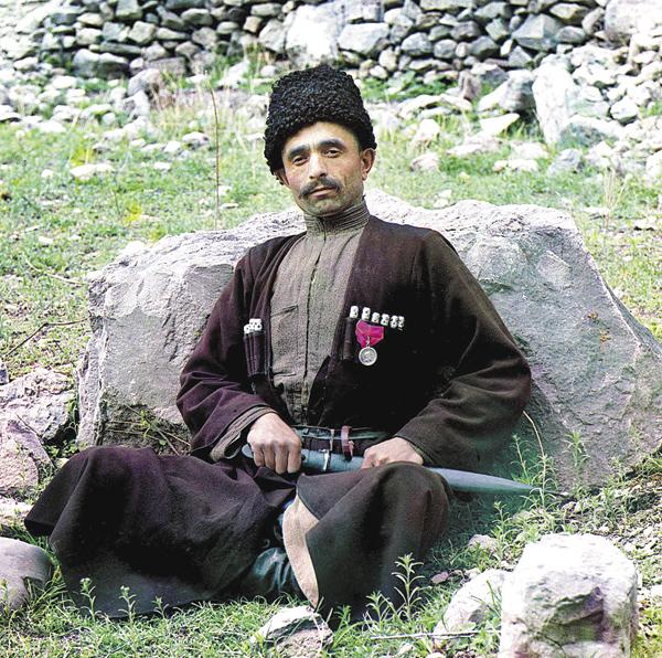 Лезгин. Дагестан, аул Аракани. 1904 год